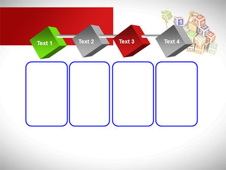 Toy Blocks PowerPoint Template Slide 18