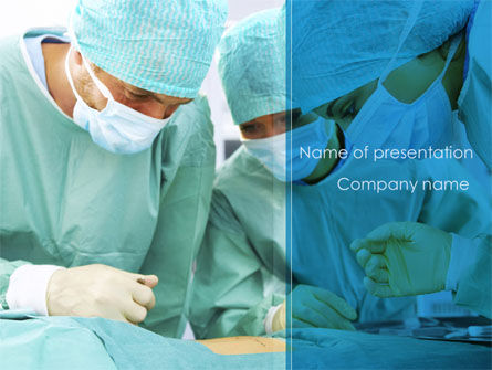 Medical: Surgery Internship PowerPoint Template #08427
