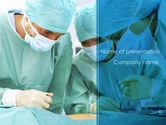 Medical: Modelo do PowerPoint - estágio de cirurgia #08427
