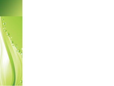 Green Bubbles PowerPoint Template, Slide 3, 08429, Abstract/Textures — PoweredTemplate.com