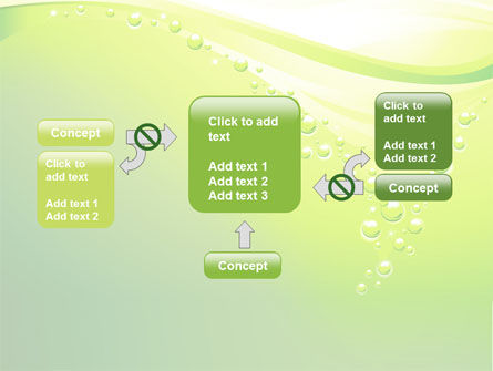 Green Bubbles PowerPoint Template Slide 13