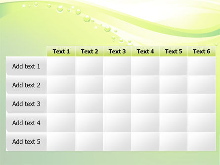 Green Bubbles PowerPoint Template Slide 15
