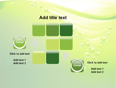 Green Bubbles PowerPoint Template Slide 16