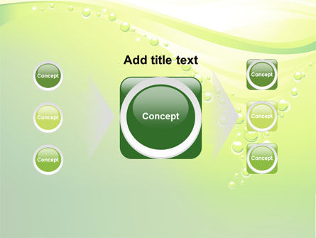 Green Bubbles PowerPoint Template Slide 17