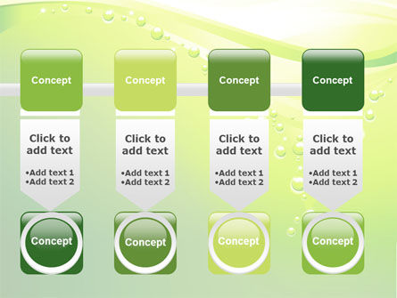Green Bubbles PowerPoint Template Slide 18