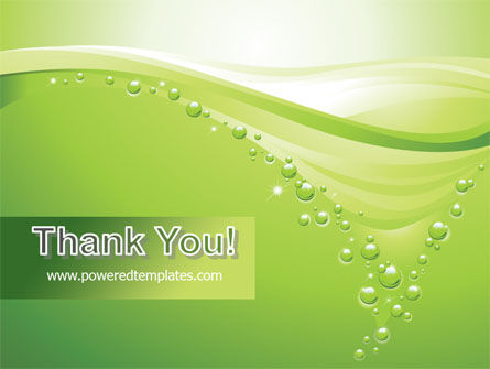 Green Bubbles PowerPoint Template Slide 20