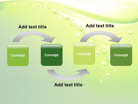 Green Bubbles PowerPoint Template Slide 4