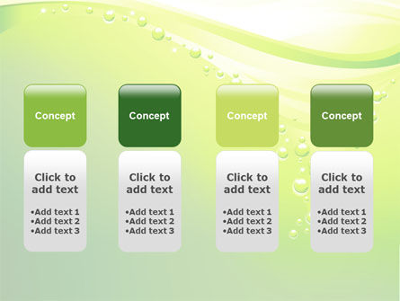 Green Bubbles PowerPoint Template Slide 5