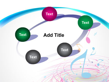 Music Swirl PowerPoint Template Slide 14