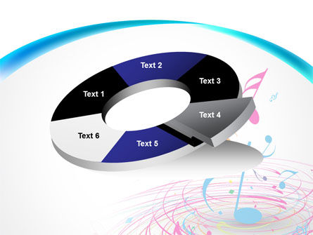 Music Swirl PowerPoint Template Slide 19