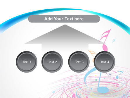 Music Swirl PowerPoint Template Slide 8
