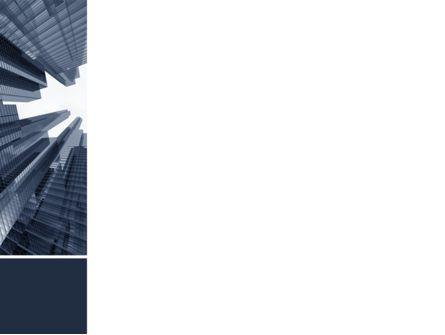 Urban Civilization In Gray Colors PowerPoint Template, Slide 3, 08433, Construction — PoweredTemplate.com