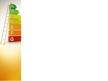 Energy Efficiency Rating PowerPoint Template, Slide 3, 08435, Nature & Environment — PoweredTemplate.com