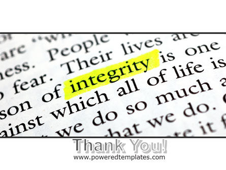 Integrity Business PowerPoint Template Slide 20