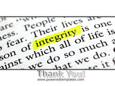 Integrity Business PowerPoint Template#20