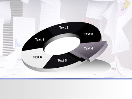 Drowning in Paper PowerPoint Template Slide 19