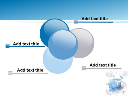 Blue Cube PowerPoint Template Slide 10