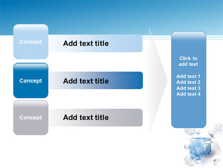 Blue Cube PowerPoint Template Slide 12