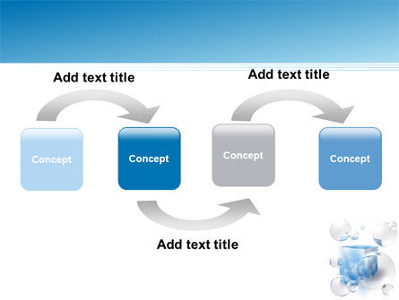 Blue Cube PowerPoint Template Slide 4
