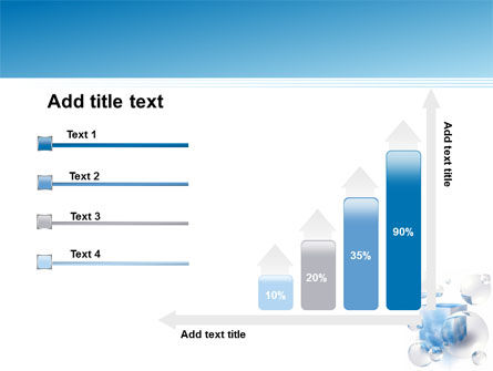 Blue Cube PowerPoint Template Slide 8