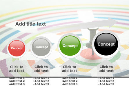 Target Pin PowerPoint Template Slide 13