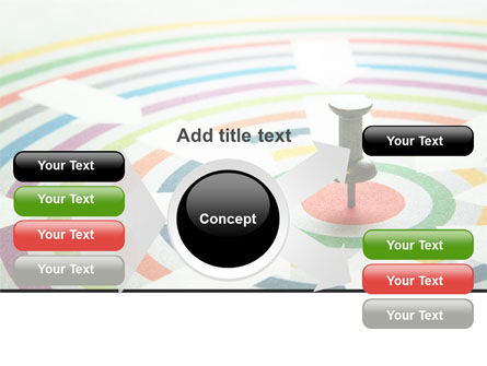 Target Pin PowerPoint Template Slide 14