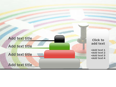 Target Pin PowerPoint Template Slide 8