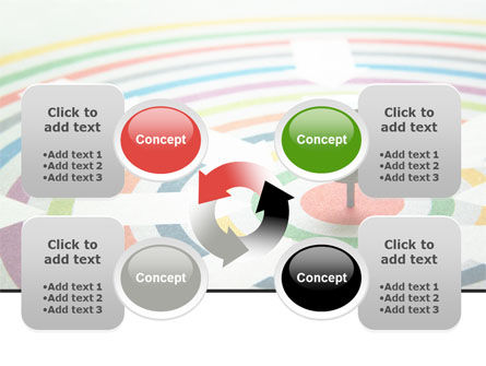 Target Pin PowerPoint Template Slide 9