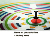 Business Concepts: Target Pin PowerPoint Template #08440