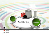 Target Pin PowerPoint Template#16