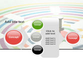 Target Pin PowerPoint Template#17