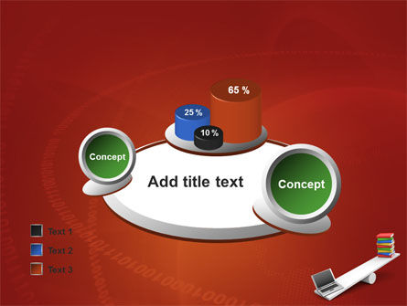 Computer or Books PowerPoint Template Slide 16