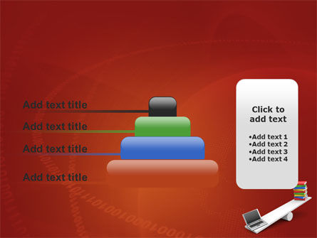 Computer or Books PowerPoint Template Slide 8