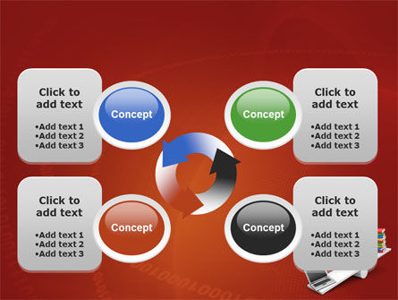 Computer or Books PowerPoint Template Slide 9