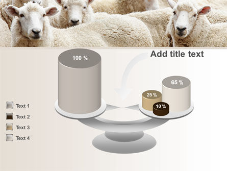Sheep Flock PowerPoint Template Slide 10