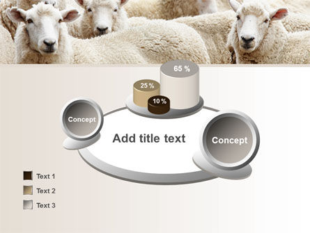 Sheep Flock PowerPoint Template Slide 16