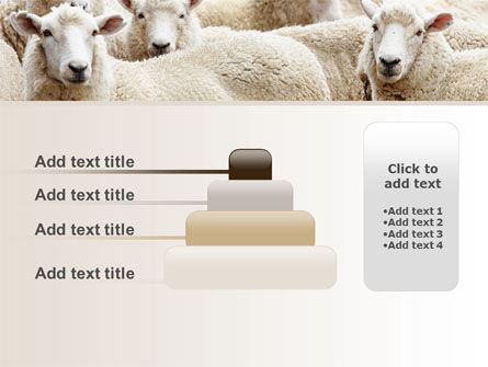 Sheep Flock PowerPoint Template Slide 8