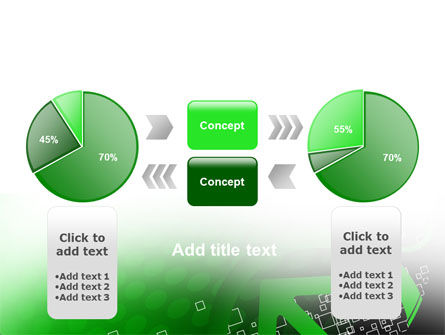 Green Pointing Arrow PowerPoint Template Slide 11