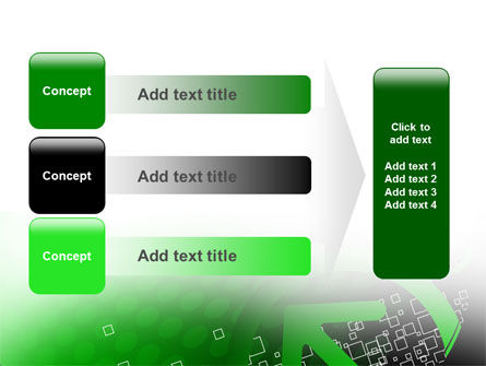 Green Pointing Arrow PowerPoint Template Slide 12