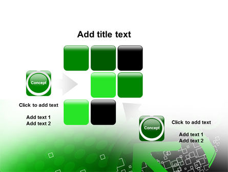 Green Pointing Arrow PowerPoint Template Slide 16