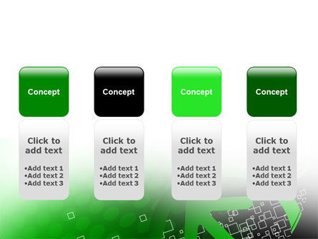 Green Pointing Arrow PowerPoint Template Slide 5