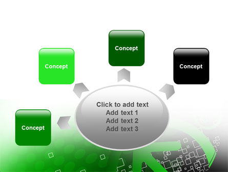Green Pointing Arrow PowerPoint Template Slide 7
