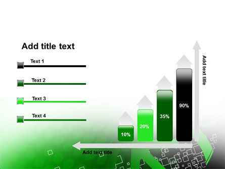 Green Pointing Arrow PowerPoint Template Slide 8