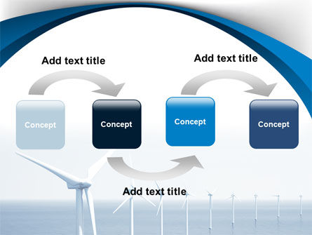 North Sea Windmills PowerPoint Template, Slide 4, 08445, Nature & Environment — PoweredTemplate.com
