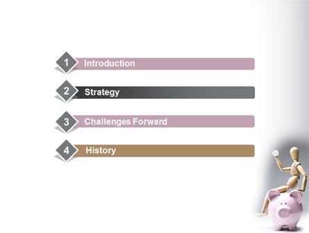 Smart Saving PowerPoint Template, Slide 3, 08446, Financial/Accounting — PoweredTemplate.com