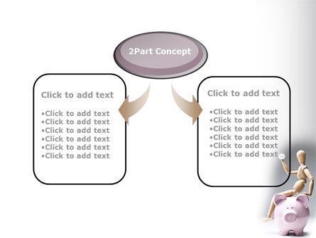Smart Saving PowerPoint Template, Slide 4, 08446, Financial/Accounting — PoweredTemplate.com