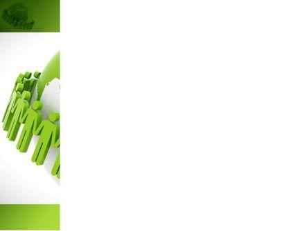 Green Planet Protection PowerPoint Template, Slide 3, 08447, Religious/Spiritual — PoweredTemplate.com