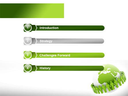 Green Planet Protection PowerPoint Template, Slide 3, 08447, Religious/Spiritual — PoweredTemplate.com