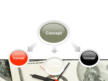 Time That We Have Is Money That We Don't PowerPoint Template, Slide 4, 08449, Financial/Accounting — PoweredTemplate.com