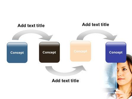 Lungs X-ray PowerPoint Template, Slide 4, 08451, Medical — PoweredTemplate.com